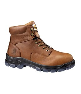Carhartt Work Boot Made In The USA 6-Inch Brown CMZ6040