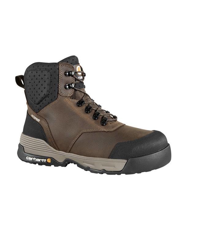 Carhartt Work Boot 6-Inch Brown Waterproof CMA6335