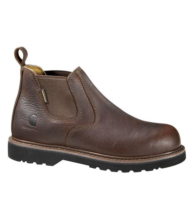 Carhartt Boot 4-Inch Brown Non Safety Toe Pull On CMS4100