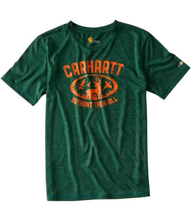 Carhartt Tee Short Sleeve Force Outhunt Them All CA8821
