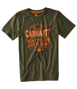 Carhartt Short Sleeve Tee Live to Hunt CA8813