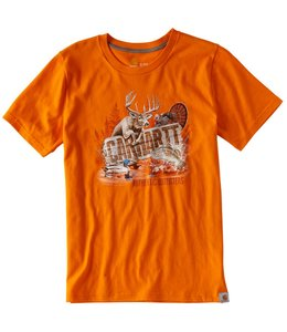 Carhartt Short Sleeve Tee Photoreal Wilderness CA8815