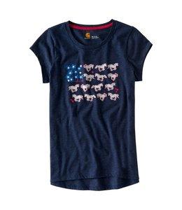Carhartt Tee Short Sleeve Horse and Flower CA9585