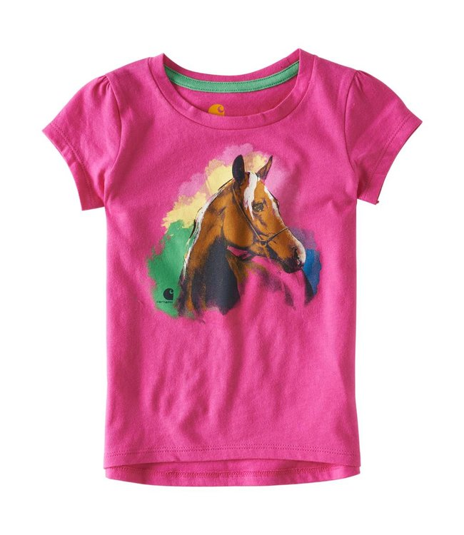 Carhartt Tee Water Color Horse CA9571