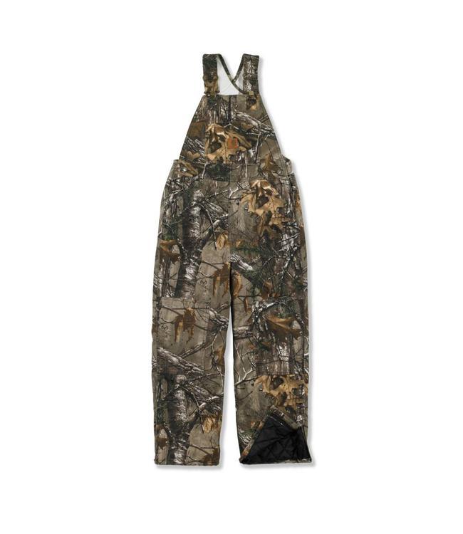 Carhartt Bib Overall Quilt Lined Camo CM8648