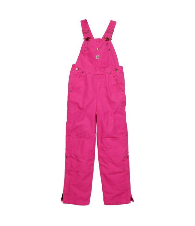 Carhartt Bib Overall Lined Pink Duck CM9650