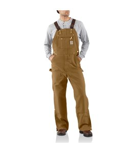 Carhartt Bib Overalls Zip to Thigh R37