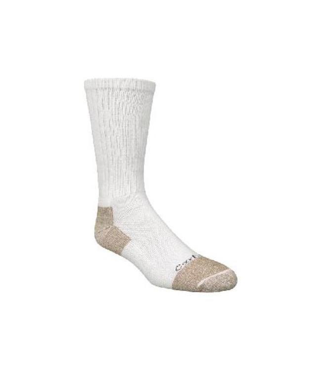 Carhartt Sock Cotton Crew Work All-Season Steel-Toe 2 pack A263-2