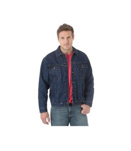 Wrangler Jacket Jean Sherpa Lined Rugged Wear RJK33DN