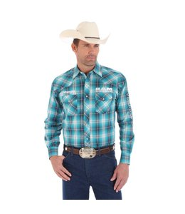 Wrangler Shirt Long Sleeve Ram Logo MP1293M