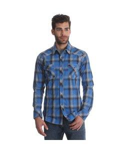 Wrangler Shirt Long Sleeve Western Rock 47 MRC321M