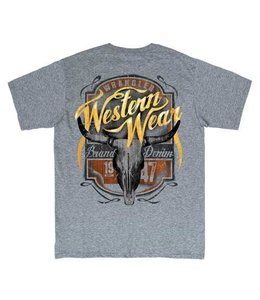 Wrangler T-Shirt Short Sleeve Graphic Western Wear MQ7670H