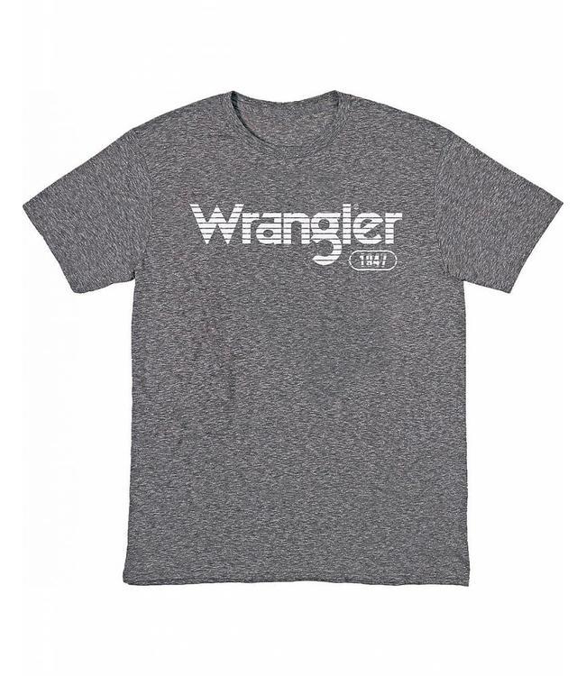 Wrangler T-Shirt Short Sleeve Wrangler Logo Horizontal Stripe MQ7758H