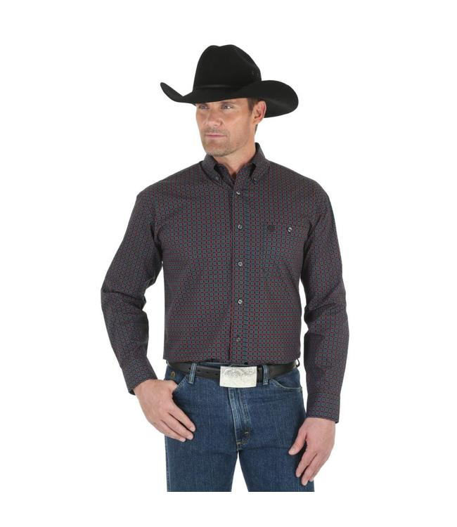 Wrangler Shirt Long Sleeve Western George Strait MGSX308