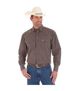 Wrangler Shirt Button Down Long Sleeve George Strait MGS72BN