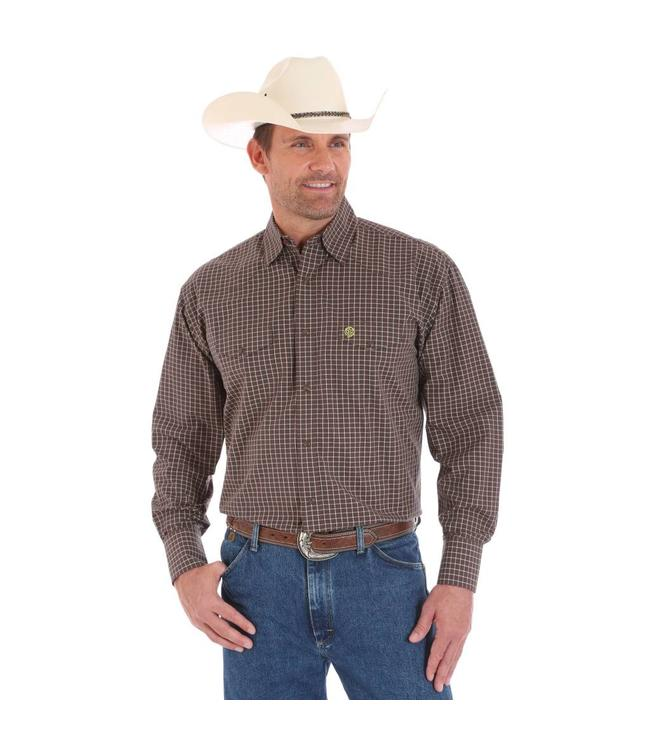 Wrangler Shirt Button Down Long Sleeve George Strait MGS72BN