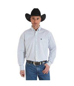 Wrangler Shirt Button Down Long Sleeve George Strait MGSX371