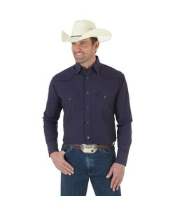 Wrangler Shirt Long Sleeve Button Down George Strait MGS57PL
