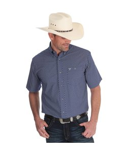 Wrangler Shirt Short Sleeve Button Down 20X MJC096M