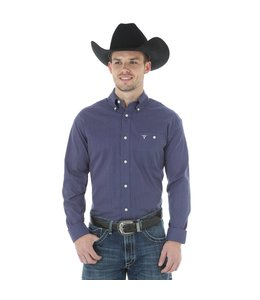Wrangler Shirt Long Sleeve Button Down 20X MJ2628M