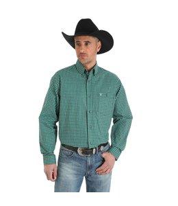 Wrangler Shirt Long Sleeve Button Down 20X MJC044M