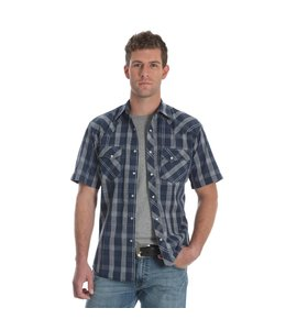 Wrangler Shirt Short Sleeve Snap Front Fashion MVG188M