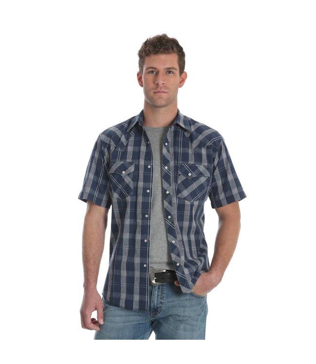 Wrangler Shirt Short Sleeve Snap Front Fashion MVG188M