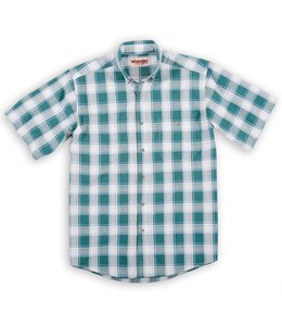 Wrangler Shirt Blue Ridge Plaid Easy Care RWS00GN