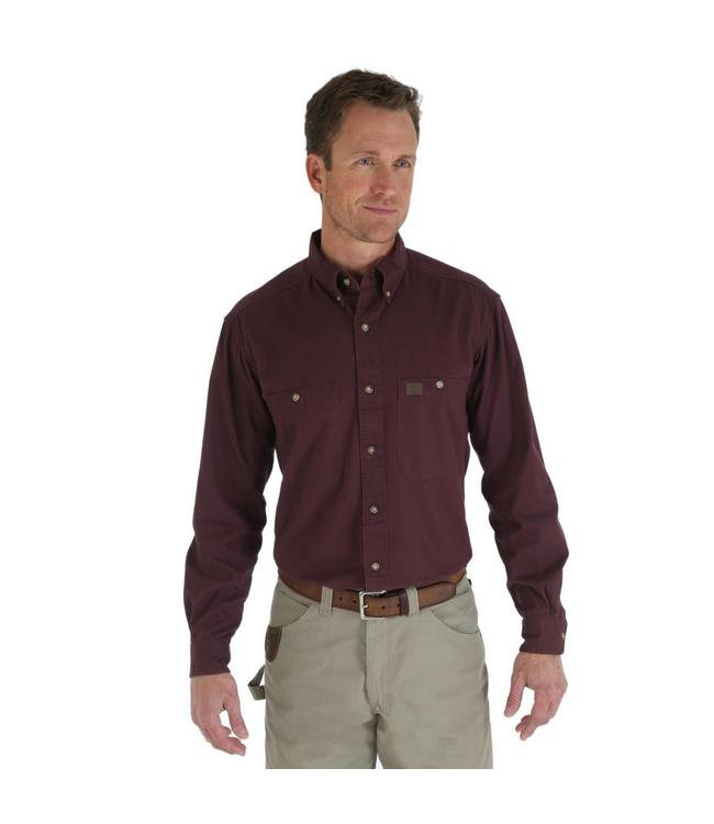 Wrangler Shirt Twill Riggs Workwear 3W501BG