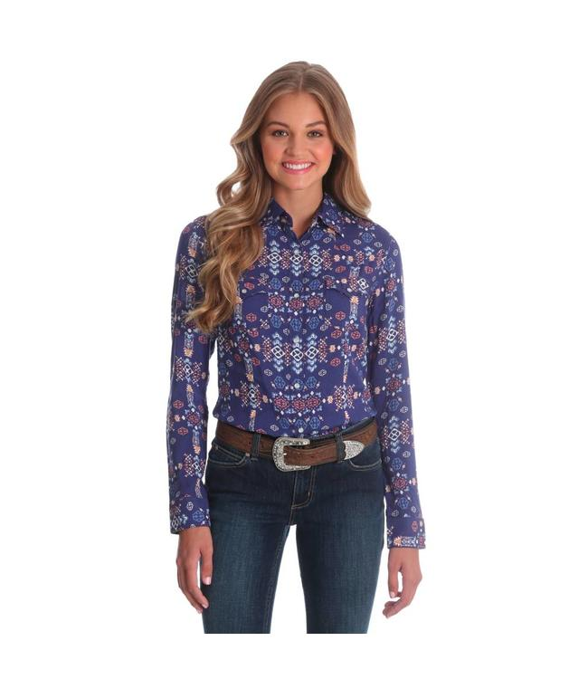 Wrangler LW1372V Wrangler Womens Western Fashion Shirt
