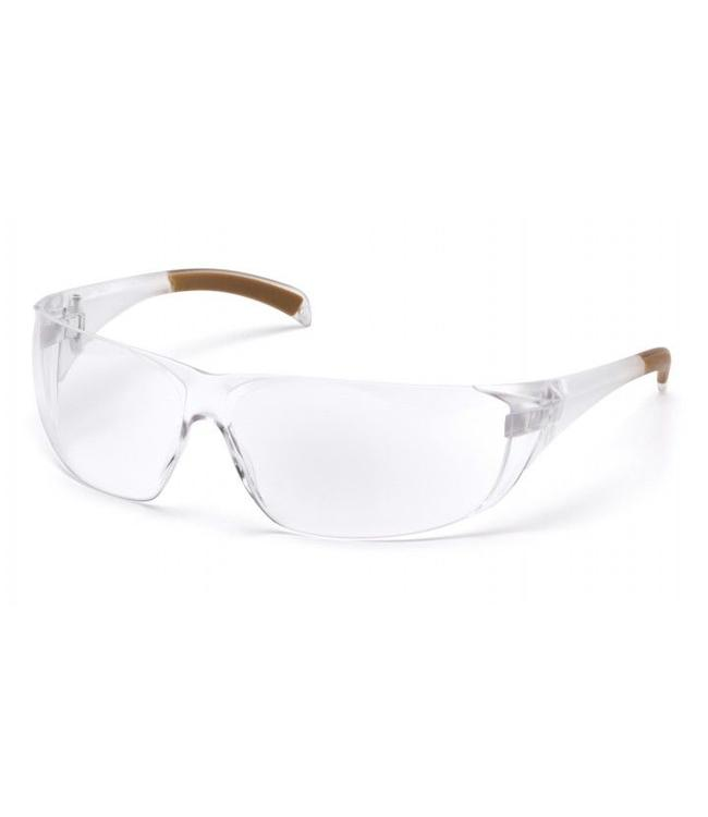 Carhartt Safety Glasses Billings Clear Temples/Clear Lens CH110S