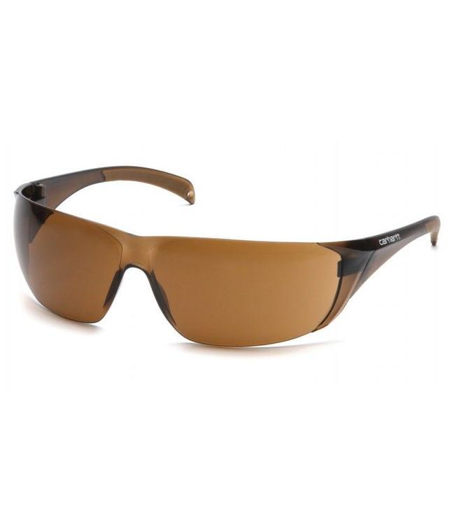 Carhartt Safety Glasses Billings Sandstone Bronze/Temples Sand Stone Bronze Lens CH118S
