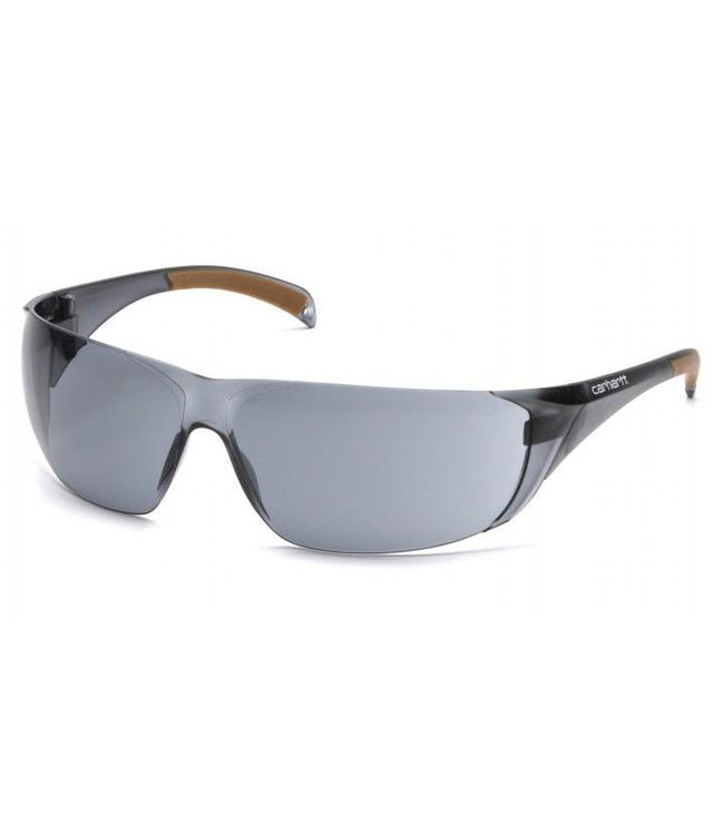 Carhartt Safety Glasses Billings Gray Temples/Gray Lens CH120S