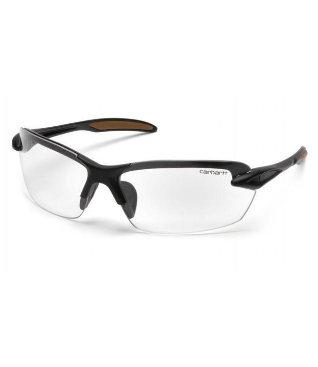 Carhartt Safety Glasses Spokane Black Frame/Clear Lens CHB310D