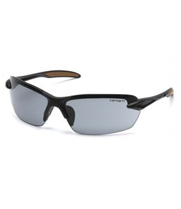 Carhartt Safety Glasses Spokane Black Frame/Gray Lens CHB320D