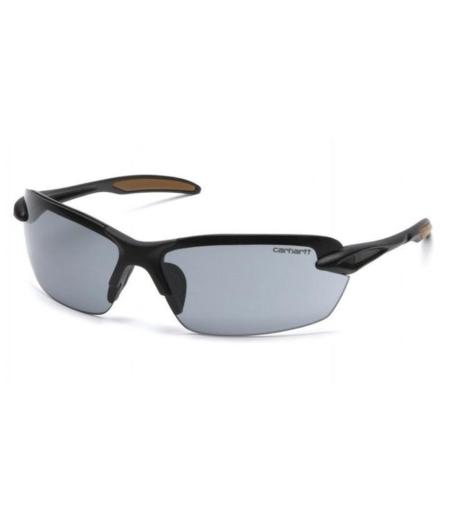 Carhartt Safety Glasses Spokane Black Frame/Gray Lens CHB320D