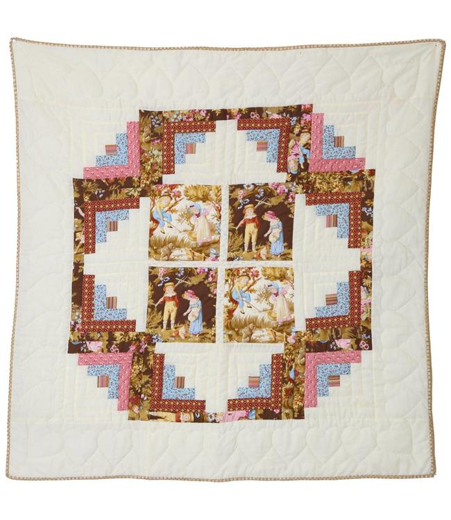 Sew Special Wallhanging Days To Remember Log Cabin