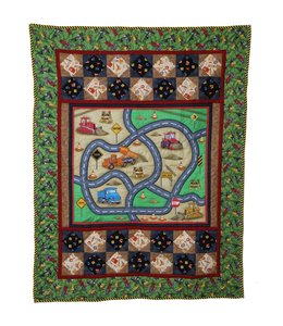 Sew Special Wallhanging Road Work