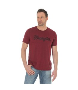 Wrangler T-Shirt Short Sleeve Wrangler Script Screenprint MQ7714R