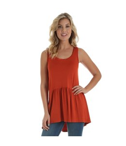 Wrangler Top Sleeveless Scoop Neck LWK553R
