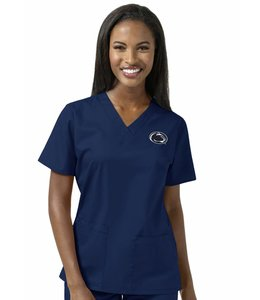 WonderWink Top Scrub V-Neck University of Penn State 101APSN1