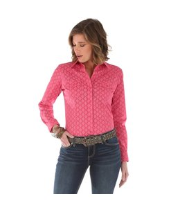 Wrangler Shirt Western Fashion Long Sleeve Button Down LW3032K