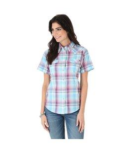 Wrangler Shirt Short Sleeve Snap As Real As Wrangler LRW242M