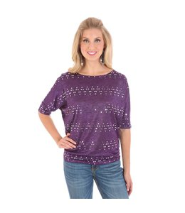 Wrangler Shirt Dolman Sleeve Western Fashion LWK463P