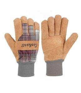 Carhartt Glove Work Suede Knit Cuff WA696