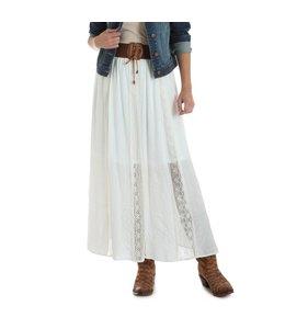 Wrangler Skirt Maxi Boho Crochet Waist LWS730N