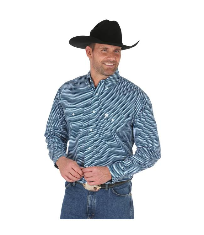 Wrangler Shirt Button Down Long Sleeve George Strait MGSB523