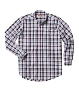 Wrangler Shirt Blue Ridge Plaid Rugged Wear RWL13BK