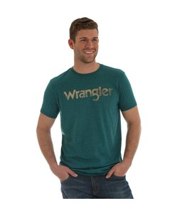 Wrangler T-Shirt Screenprint Wrangler Kabel Short Sleeve MQ7781B