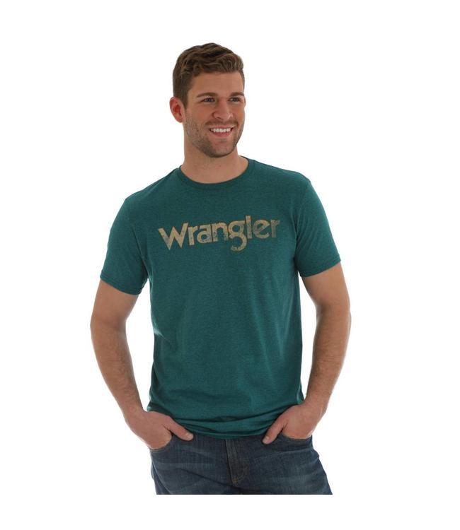 Wrangler T-Shirt Screenprint Wrangler Kabel Short Sleeve MQ7781B